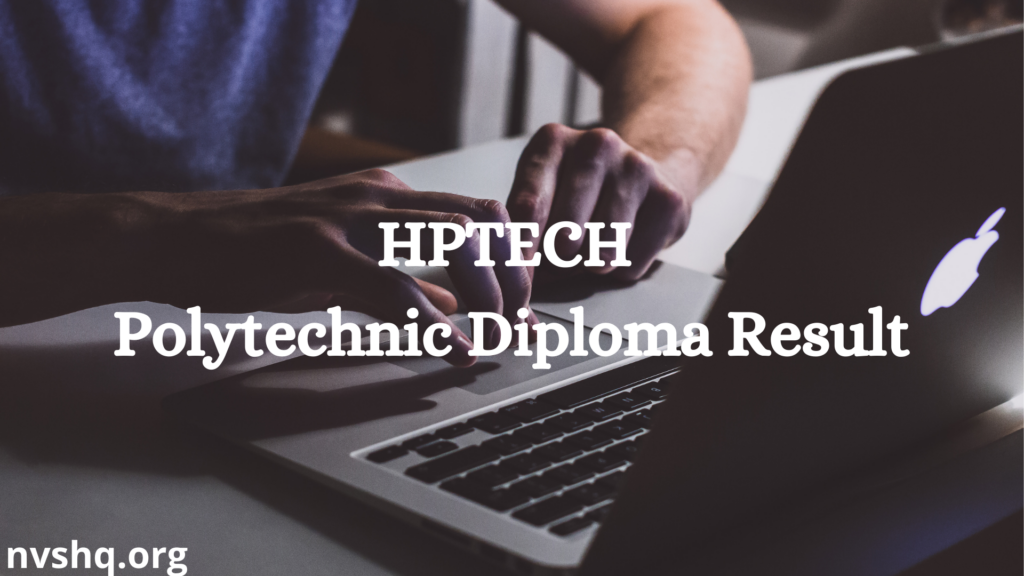 HPTECH Polytechnic Diploma Result