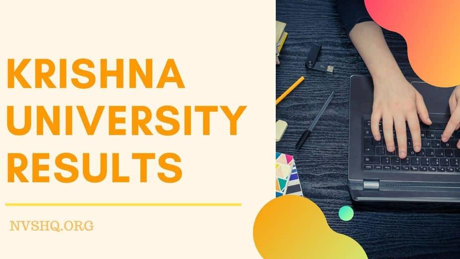 Krishna- University-Results