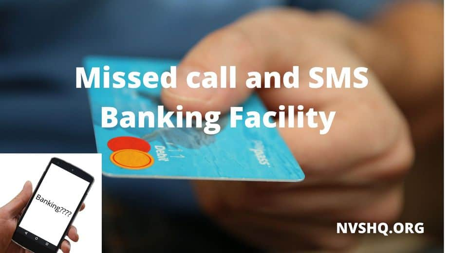 All Banks Balance Missed Call Number