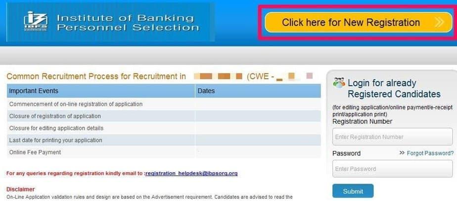ibps-po-2020-registration