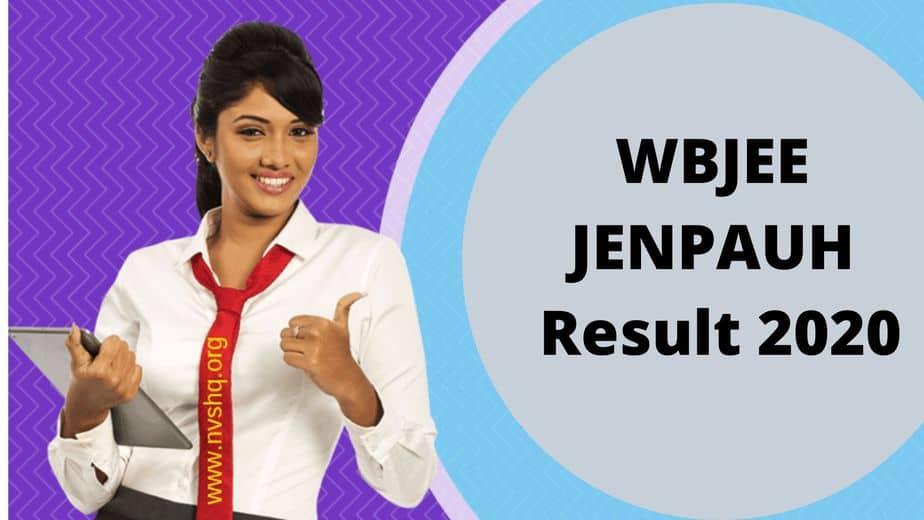 WBJEE-JENPAS-UG-JENPAUH-Result-2020