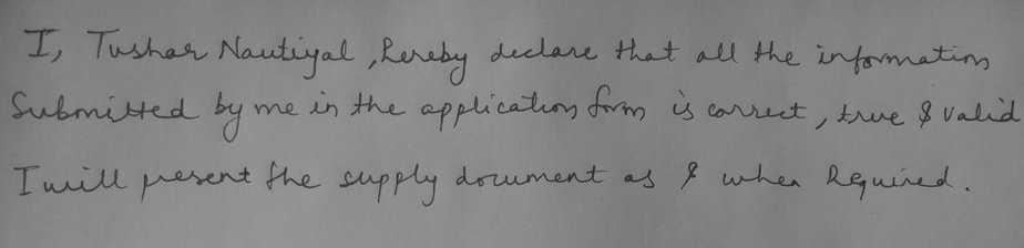 ibps_po_hand_written_declaration