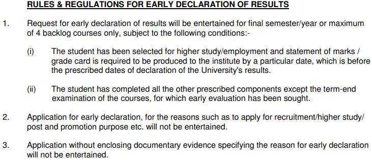IGNOU TEE Result examination Dec 2019 (Early Declaration)