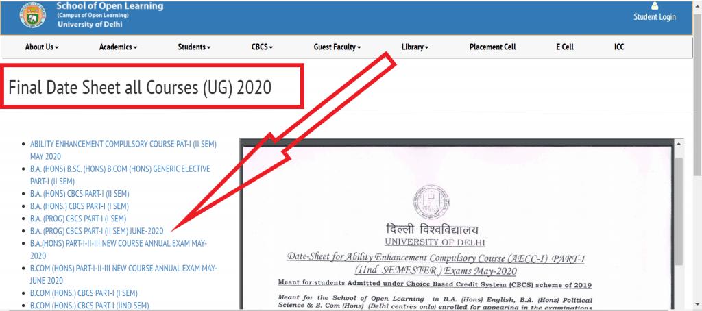 sol-date-sheet-2020