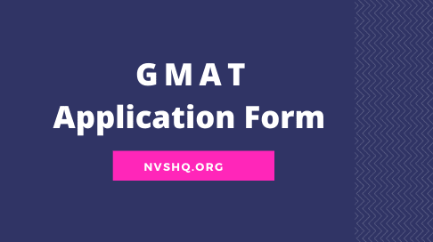 GMAT-Application-Form