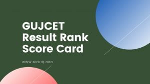 GUJCET-Result-Score-Card