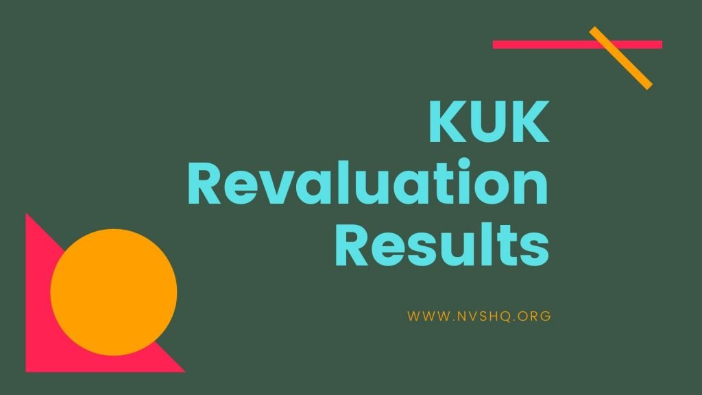 KUK Revaluation Results