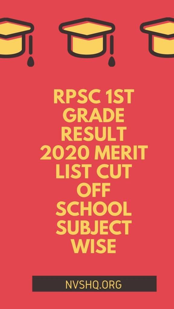 RPSC_1st-grade-RESULT_2020