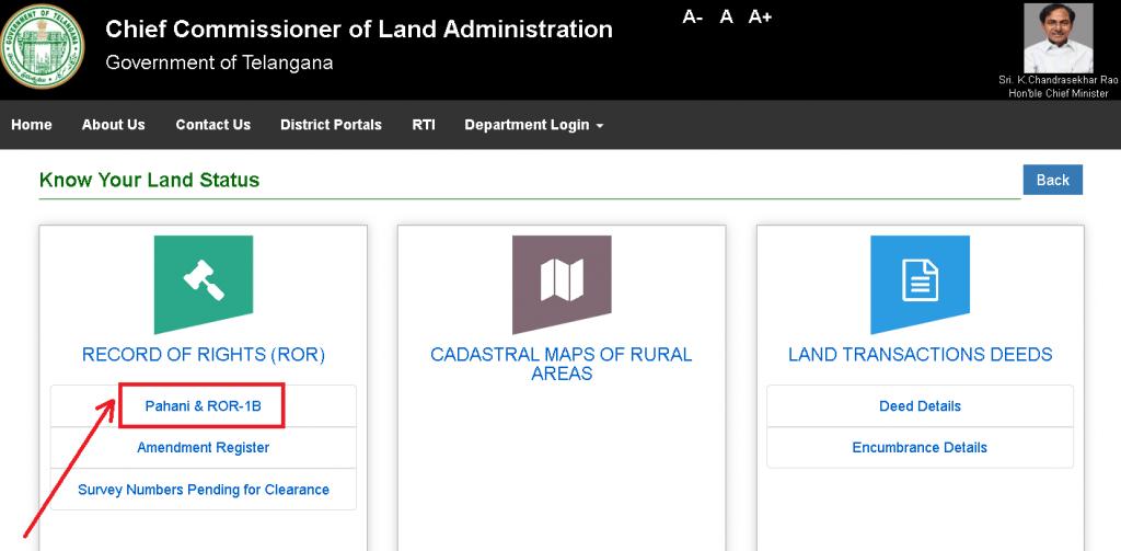 Maa-Bhoomi-Telangana-Land-Status