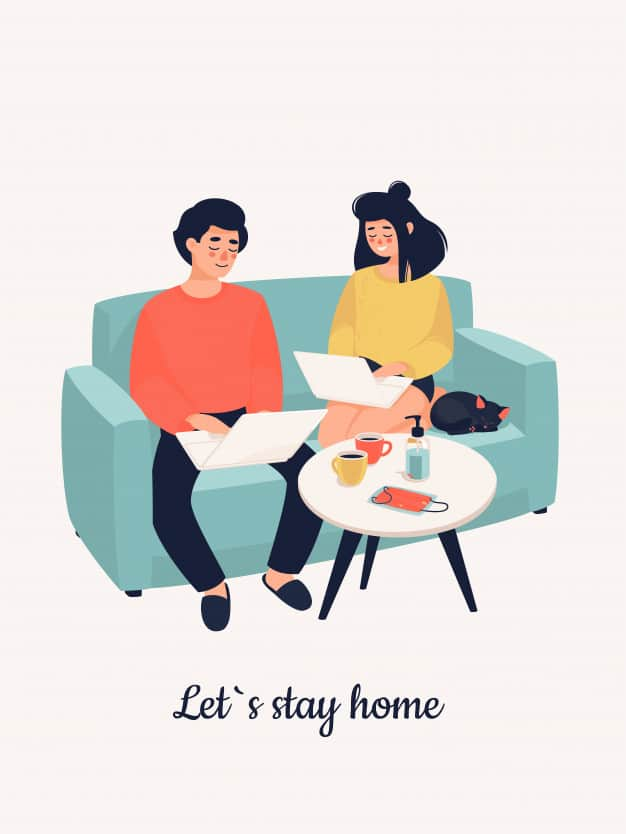 family-working-from-home-due-to-covid