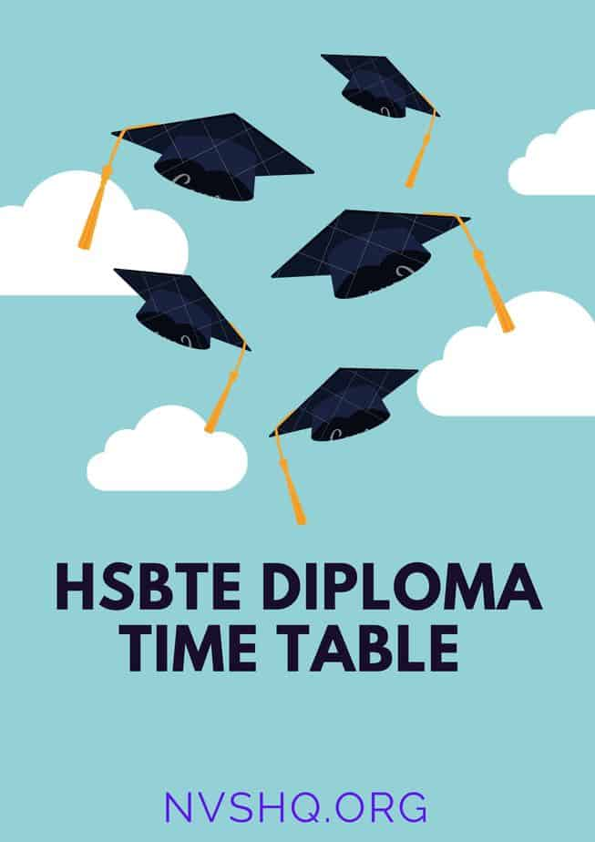 hsbte_diploma_time_table
