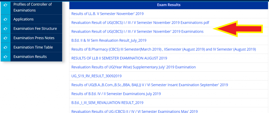 satavahana-university-revaluation-result-2020