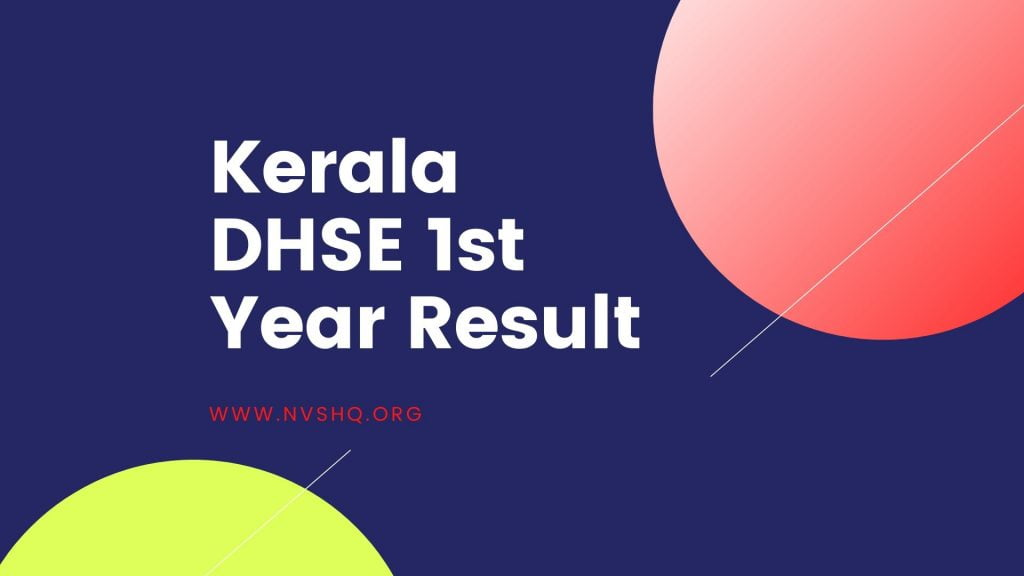 DHSE 1st Year Result