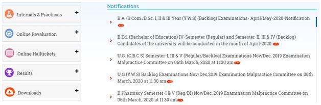 Palamuru_University_Exam_Schedule