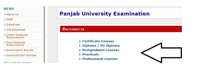 Panjab_University_Examination_Schedule