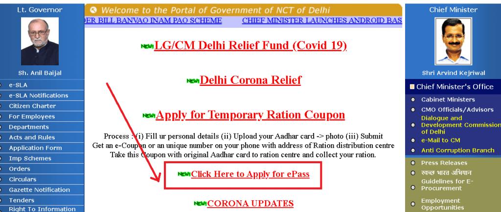 Delhi-Curfew-Pass-Online