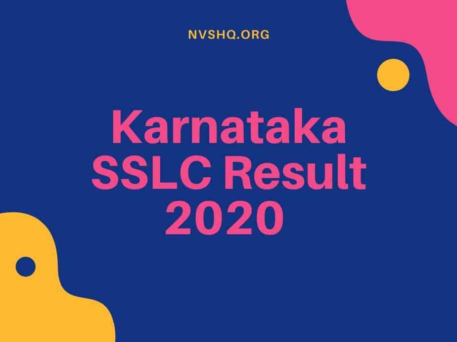 Karnataka-SSLC-Result-2020-Date-KSEEB-KAR-Result