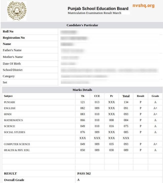 PSEB-CLASS-10-MARKSHEET-SAMPLE