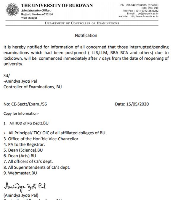 burdwan-university-notification