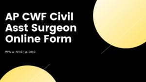 AP-CWF-Civil-Asst-Surgeon-Online-Form