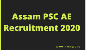 Assam-PSC-AE-Recruitment-2020