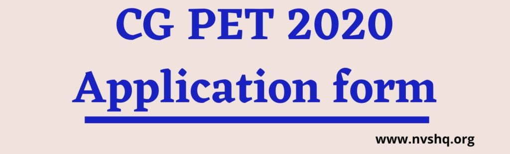 CG-PET-2020-application-form