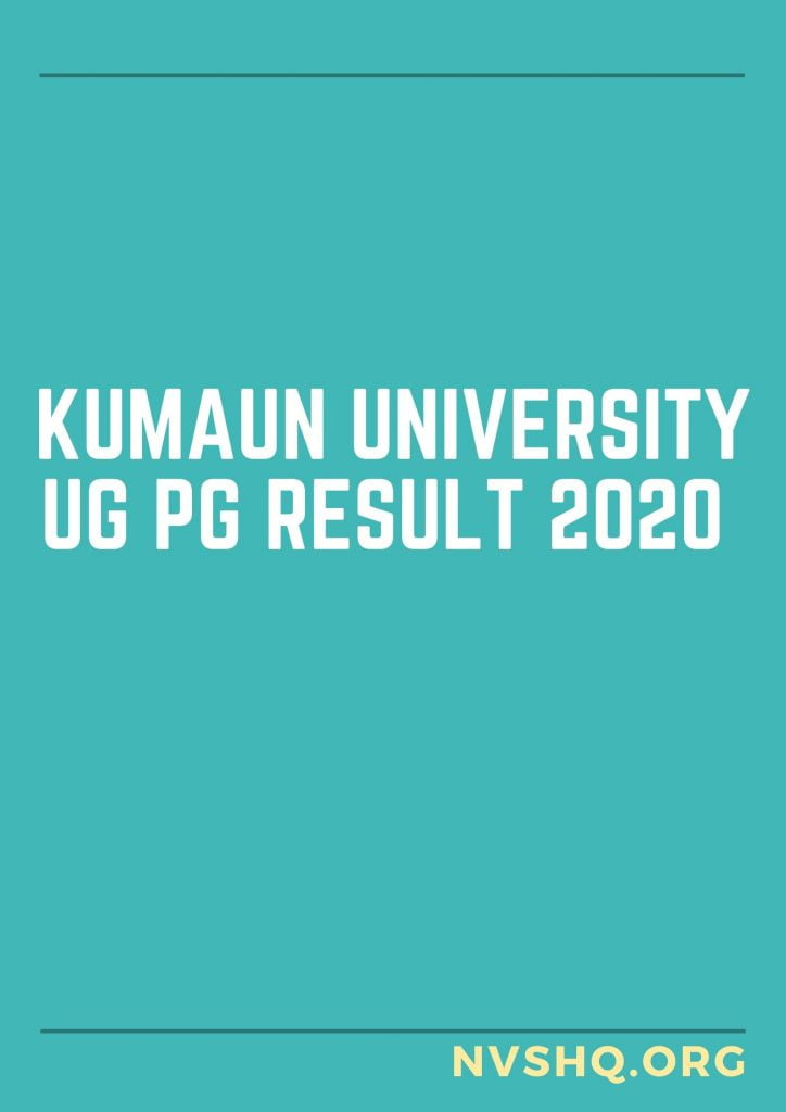 Kumaun-University-UG-PG-Result-2020
