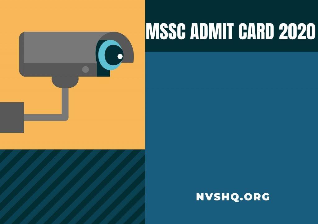 MSSC-Admit-Card-2020
