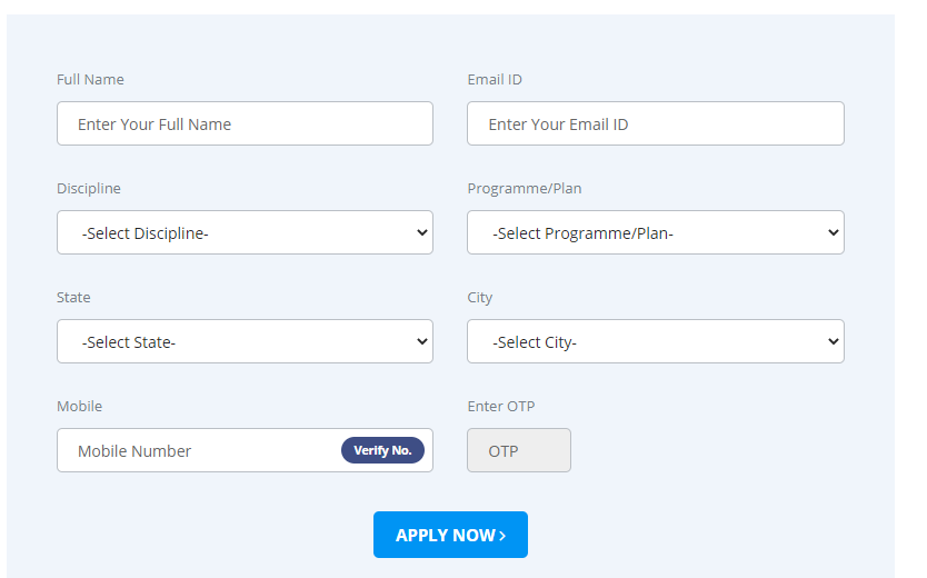 SUAT 2020 Application Form