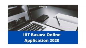 IIIT-Basara-Online-Application-2020