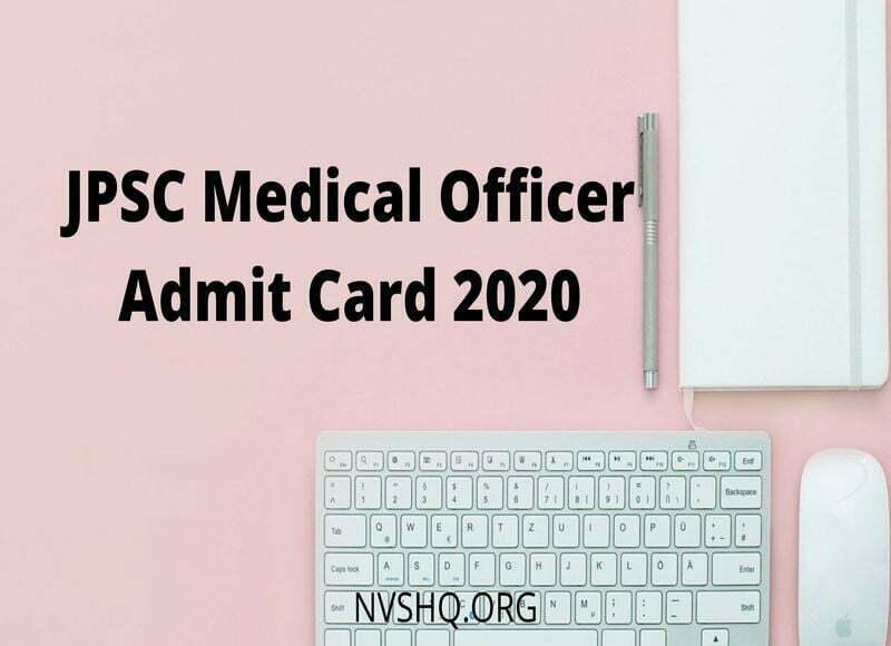JPSC_Medical_Officer_Admit_Card_2020