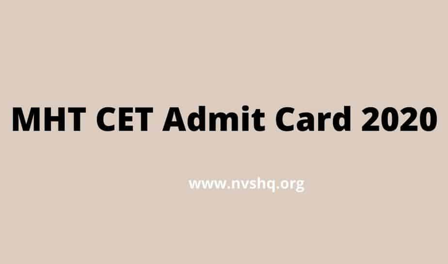 MHT-CET-Admit-Card-2020