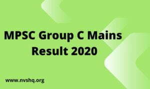 MPSC-Group-C-Mains-Result-2020