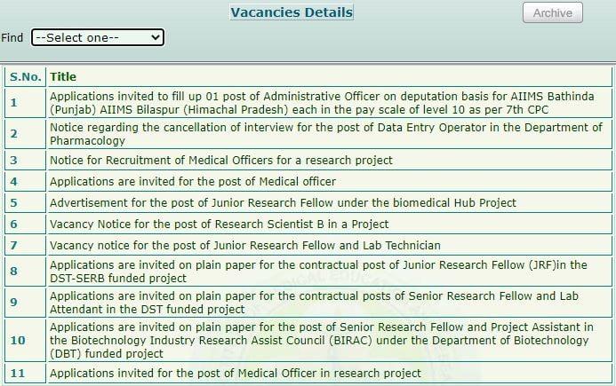 PGIMER LDC vacancies