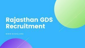 Rajasthan-GDS-Recruitment