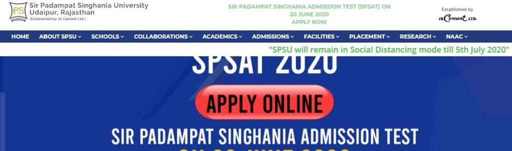 SPSAT_Hall_Ticket_2020