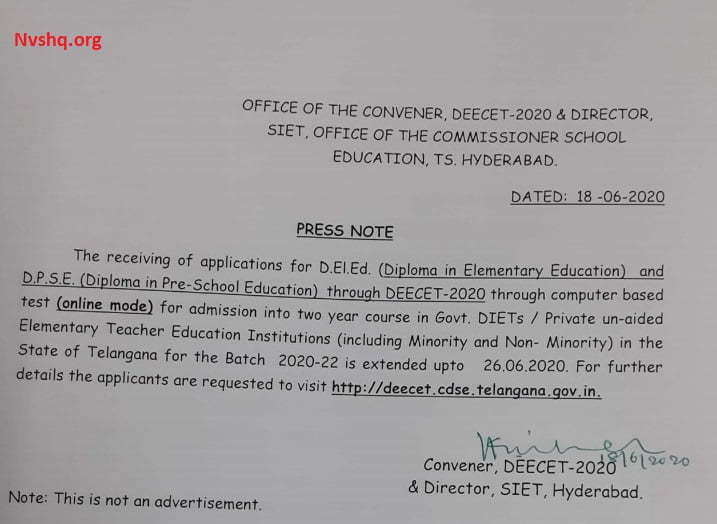 TS-DEECET-2020-Apply-Notice