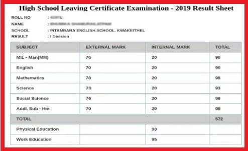 manipur-high-school-leaving-certificate-result-marksheet