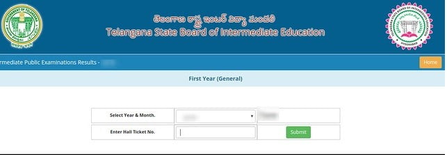 ts inter first year result website