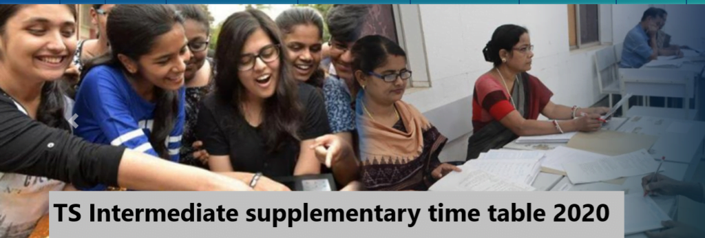 TS-intermediate-supplementary-time-table-2020