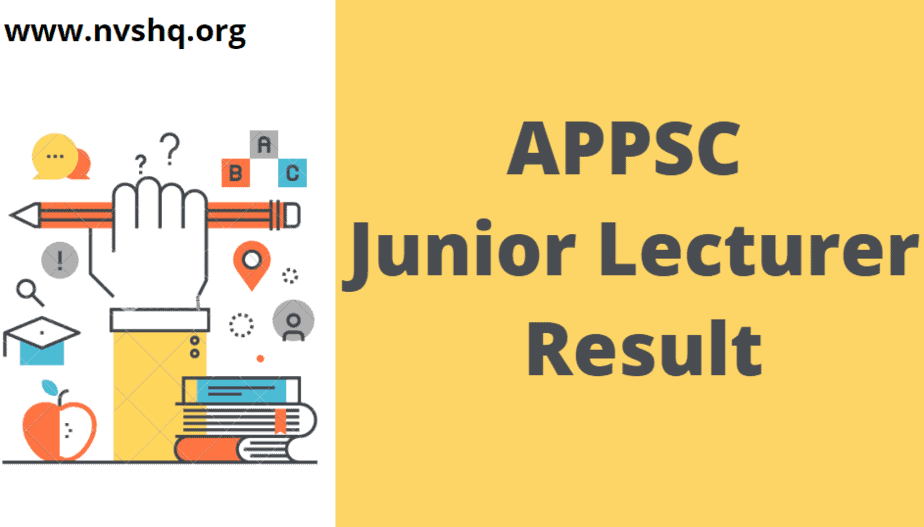 APPSC-Junior-Lecturer-Result-2020