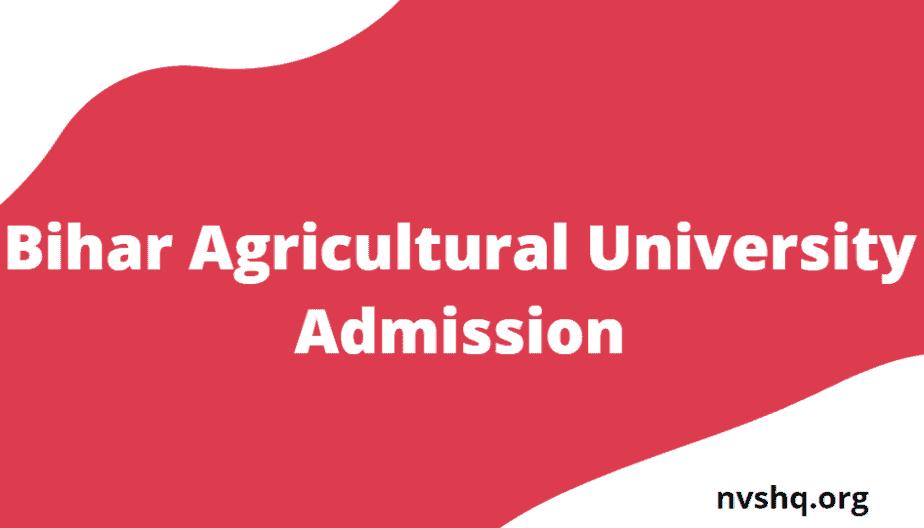 Bihar-Agricultural-University-Admission