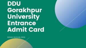 DDU-Gorakhpur-University-Entrance-Admit-Card