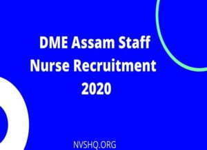 DME_Assam_Staff_Nurse_Recruitment_Application