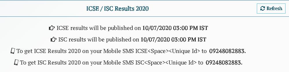 ICSE-CLASS-10TH-RESULT-2020