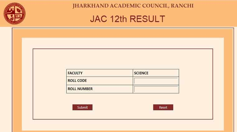 JAC.nic.in-12th-Result-window