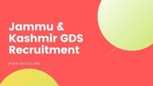 Jammu-Kashmir-GDS-Recruitment