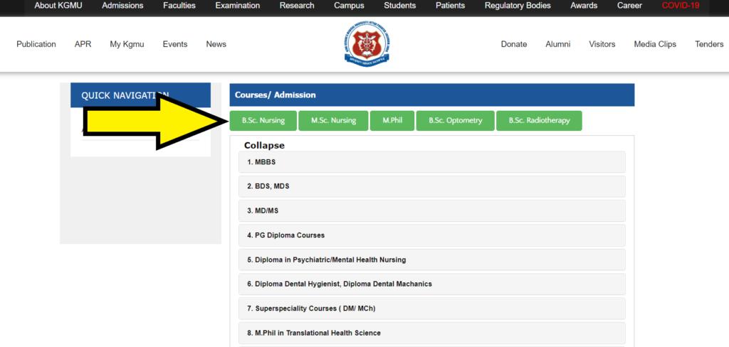 KGMU-B.Sc-Nursing-Admit-Card-admission