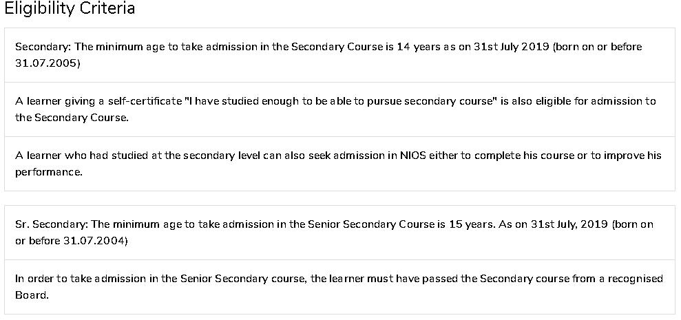 NIOS-2020-Admission-Eligibility-Criteria
