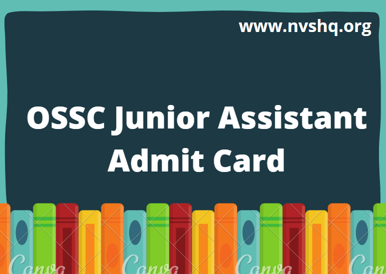 OSSC-Junior-Assistant-Admit-Card-2020